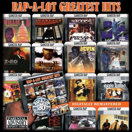 Rap A Lot Greatest Hits (explicit)