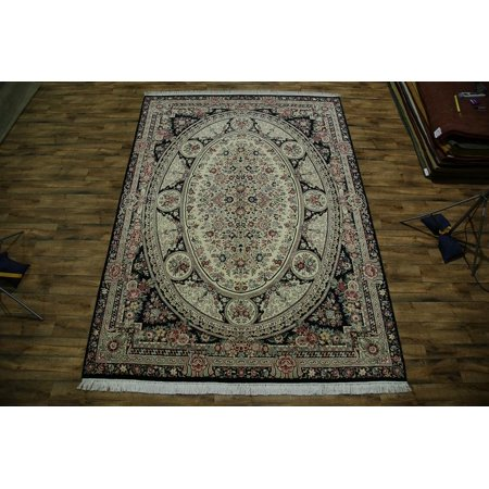 Rugsource 9x13 French Aubusson Chinese Oriental Handmade Wool Area Rug 12 7