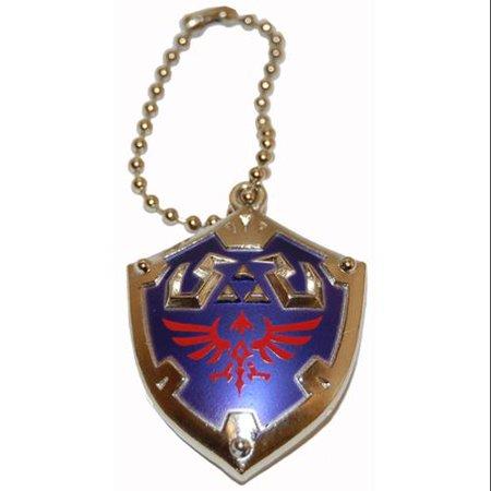 Legend of Zelda Skyward Sword Metal Hyrule Shield Keychain/Clip On](Legend Of Zelda Sword)