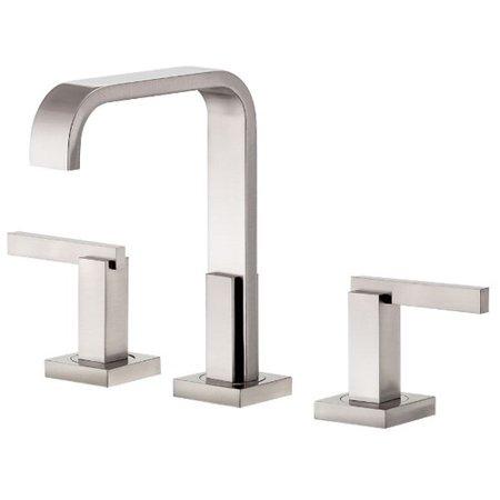 Danze D304544BN Sirius Trim Line Two Handle Widespread Lavatory Faucet, Brushed Nickel Danze Nickel Trim Faucet