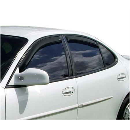 AVS 97-03 Pontiac Grand Prix Ventvisor In-Channel Front & Rear Window Deflectors 4pc - - Pontiac Grand Prix Front Window