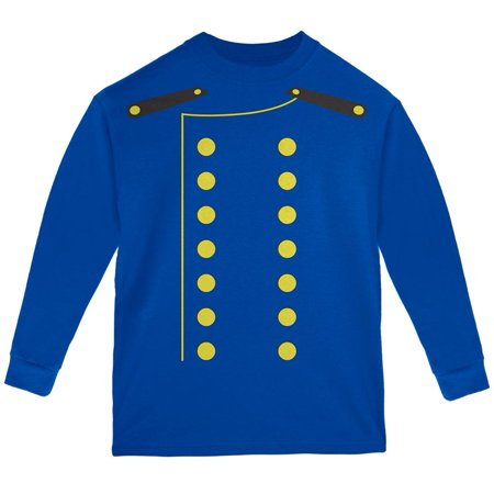 Halloween Hotel Bellhop Costume Youth Long Sleeve T Shirt