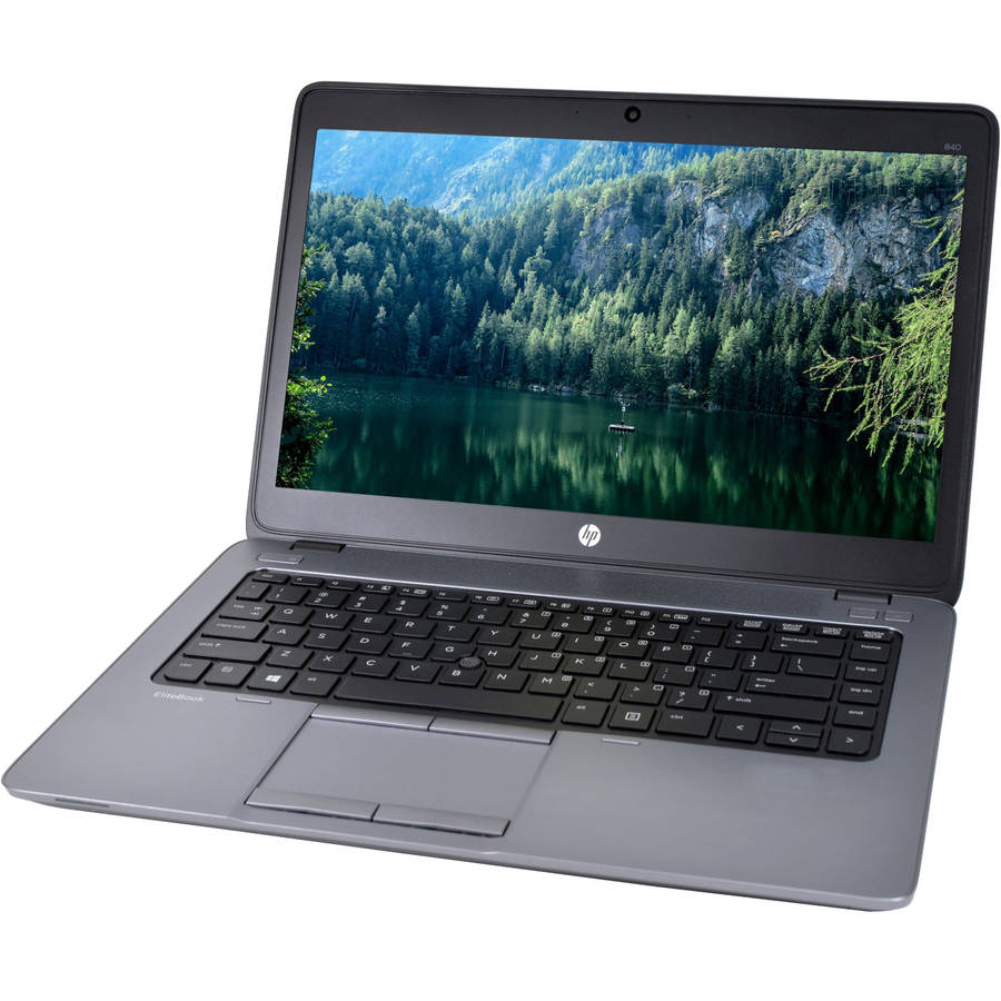 "Refurbished HP Ultrabook 840 G2 14"" Laptop, Windows 10 Pro, Intel Core i5-5300U Processor, 16GB RAM, 256GB Solid State Drive"