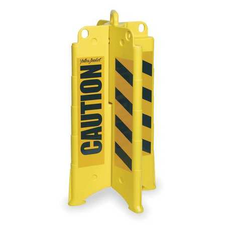 Eagle Collapsible Channelizer, Yellow 1820CAUTION