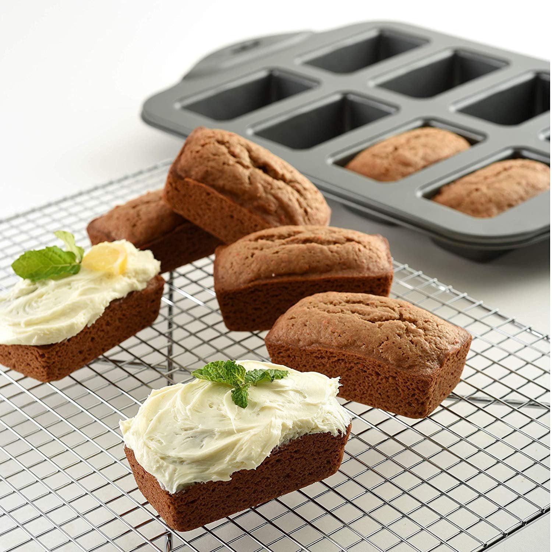 8-Piece Norpro 3943 Nonstick Mini Loaf Pan