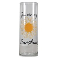 "Mainstays 10"" Sunshine Glass Vase"