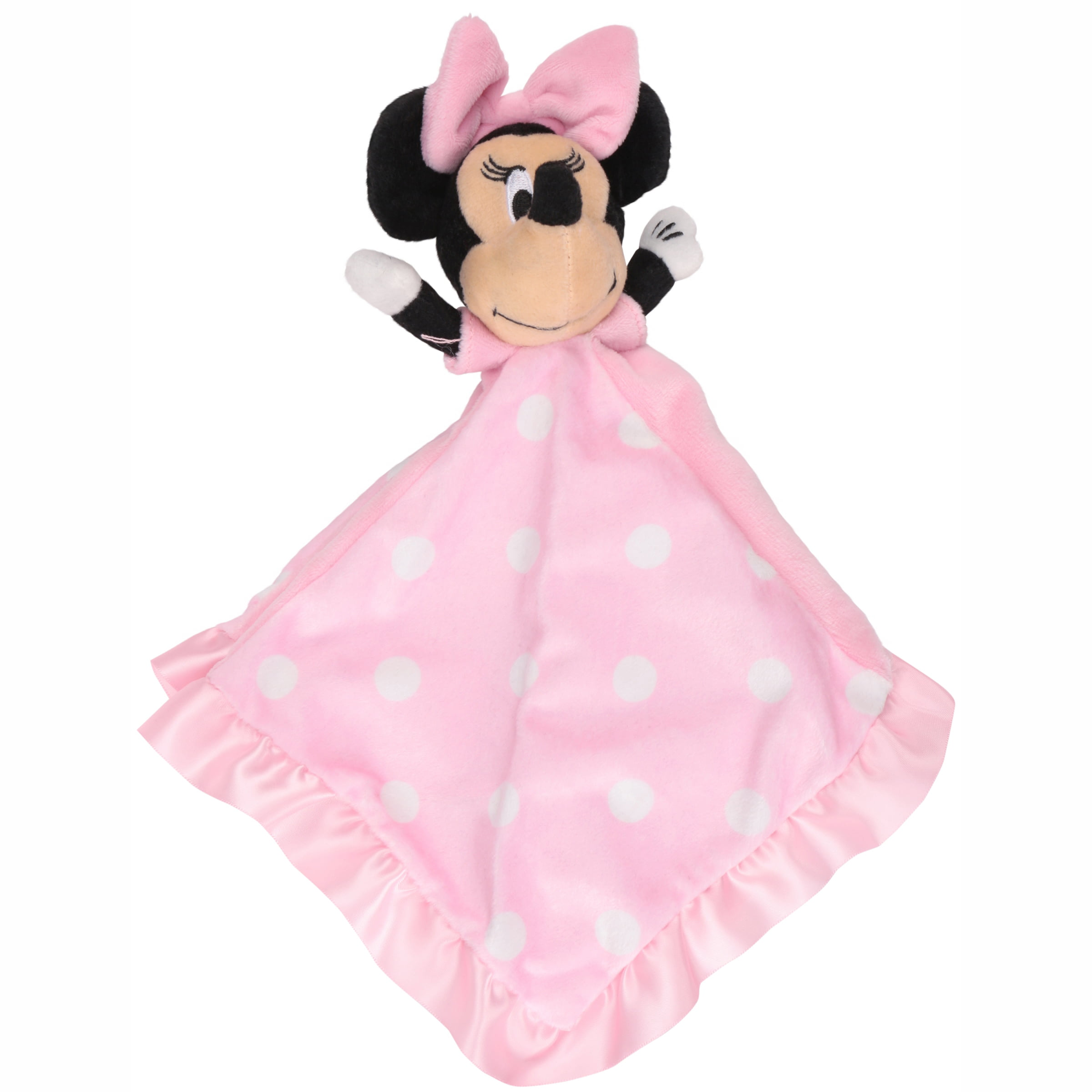 18 inch doll blanket and pillow. Bed, doll and Minnie stuff toy not included.