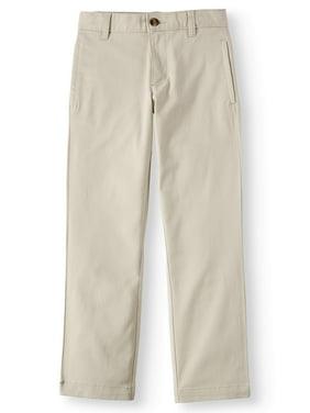 Wonder Nation Boys 4-18 School Uniform Twill Chino Pants