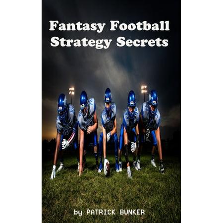 Fantasy Football Strategy Secrets - eBook