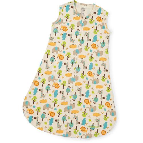 Summer Infant SwaddleMe Sack, Uni At The Zoo, Medium