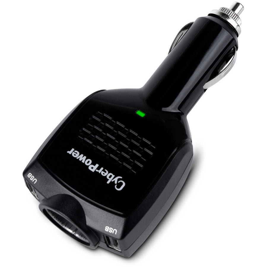 CyberPower CPTDC2U1DCRC1 Dual-Port USB Charger with DC Output