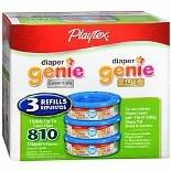 Playtex Diaper Genie II Disposal System Refills 3.0 ea (pack of 1)