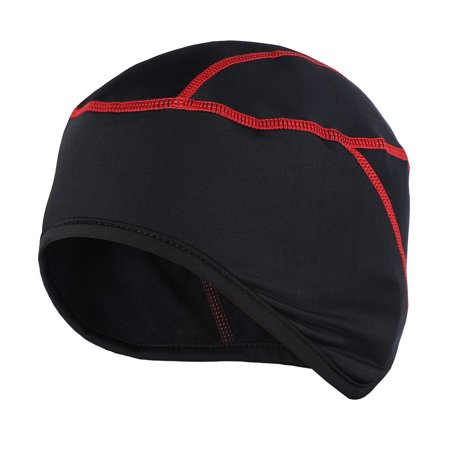 Running Winter Hat (Thermal Fleece Winter Windproof Beanie Hat Cap Outdoor Sports Running Skiing Bike Bicycle Cycling Helmet)