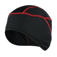 Thermal Fleece Winter Windproof Beanie Hat Cap Outdoor Sports Running Skiing Bike Bicycle Cycling Helmet Liner