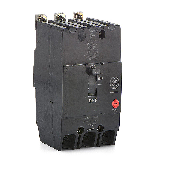 General Electric  TEY370 3 Pole 480 Volt  70 Amp