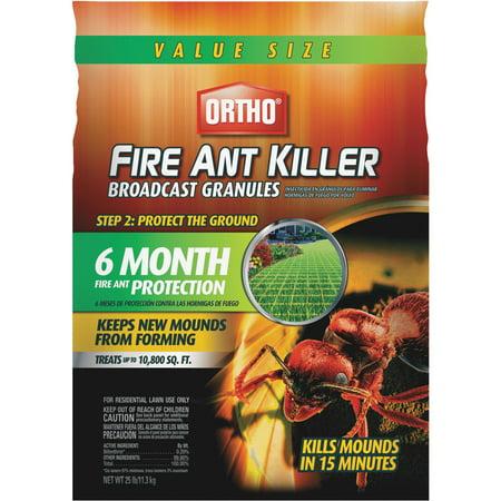 ortho fire ant killer broadcast (White Granules)