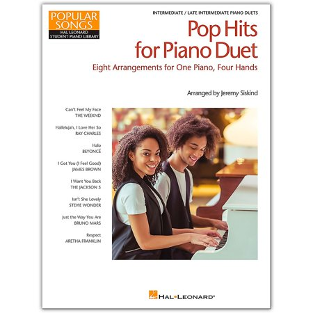 Hal Leonard Pop Hits for Piano Duet-Popular Songs Series 8 Arrangements for  1 Piano, 4 Hands