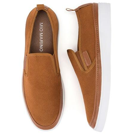 Mio Marino Men's Urbane Suede Slip On Shoes