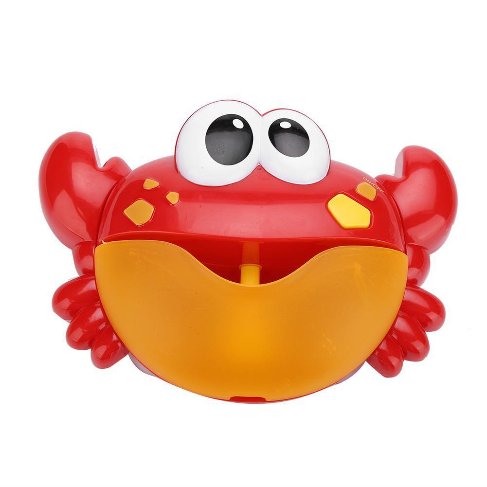 Machine à Bulles Crabe Musique Pr Bébés Enfant Baignoire Douche Bain Jouet