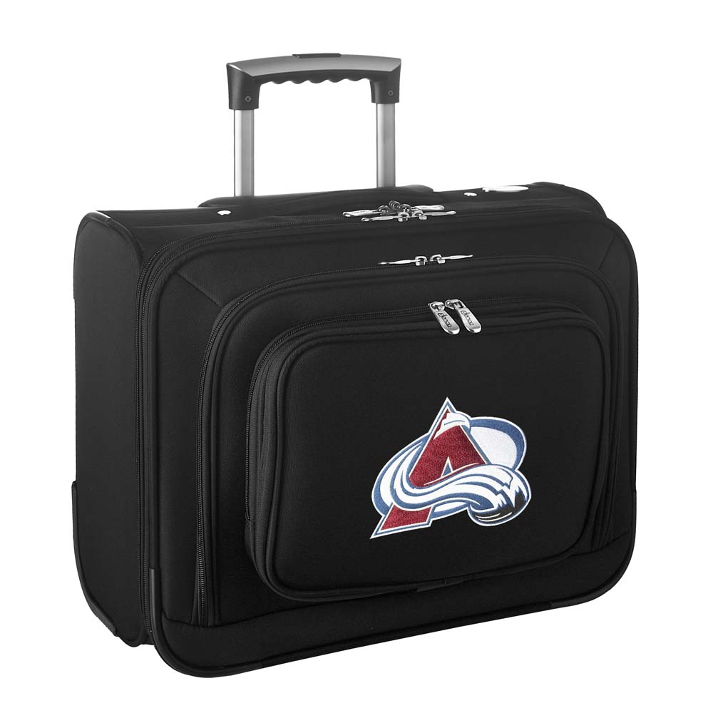 Denco NHL Wheeled Laptop Overnighter, Colorado Avalanche by Mojo Licensing