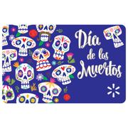 Dia de los Muertas Walmart eGift Card
