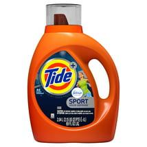 Laundry Detergent: Tide Plus Febreze