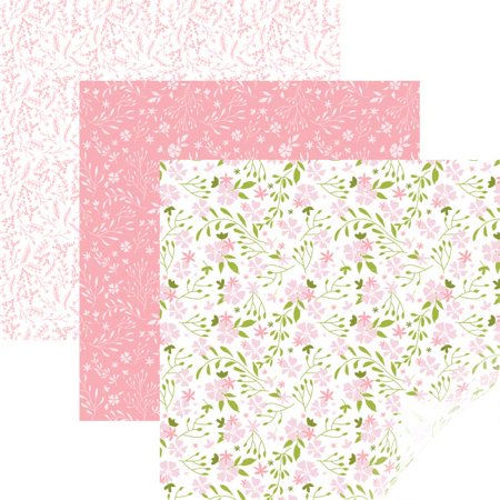 BLOOM PINK Cricut Patterned Iron-on Sampler 12x17(3) Heat Transfer HTV Pattern