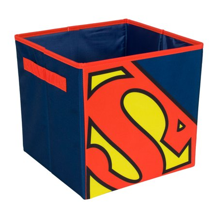 Superman Storage Bin for Toys   Licensed Storage   Everything Mary (Superman Chest Plate)