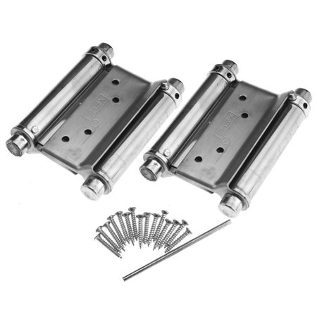 EECOO 2Pcs 3'' Inch Double Action Spring Hinge Saloon Cafe Door Swing Door - Saloon Door