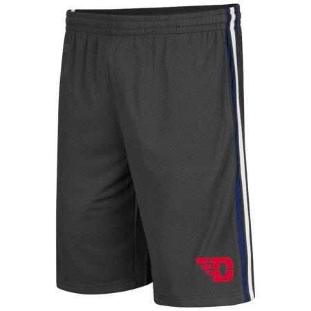 Colosseum Basketball Shorts (Mens NCAA Dayton Flyers Basketball Shorts (Charcoal))