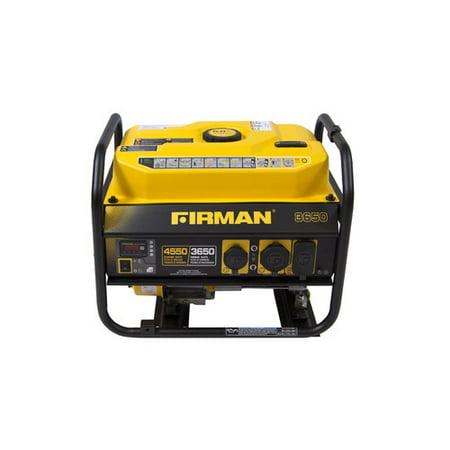 Firman Power Equipment P03607 Gas Powered 3650/4550 Watt