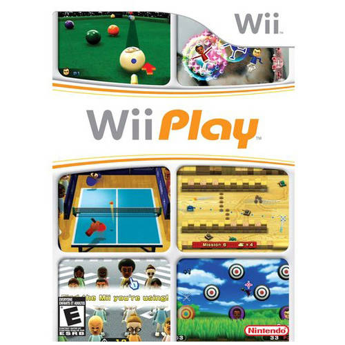 Wii Play (Wii) - Pre-Owned - Game Only