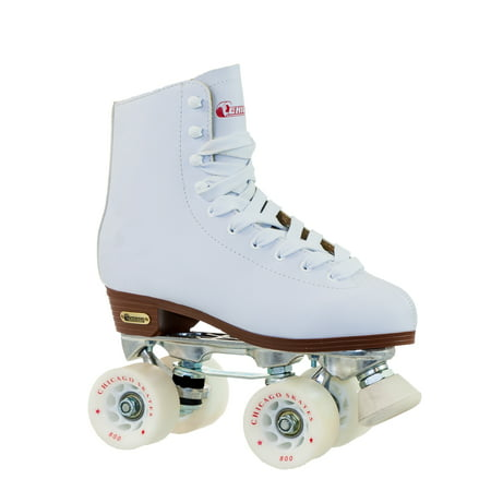 Womens Chicago Deluxe Leather Rink Skates - 6