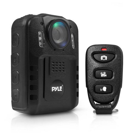 Pyle Compact Portable 1080p HD Infrared Night Vision Police Body Camera (2 Pack) - image 6 of 7