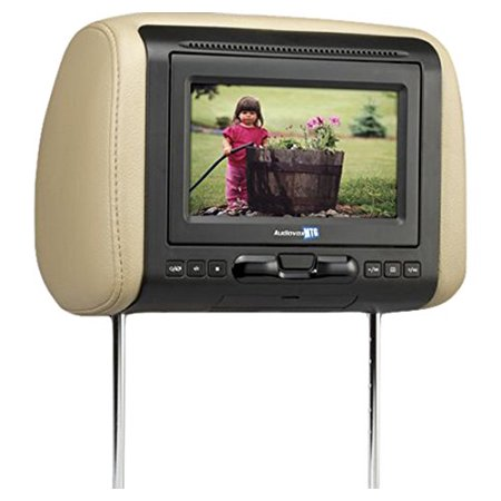 """Audiovox 7"""" Dual Mobile Video Headrest System by"""