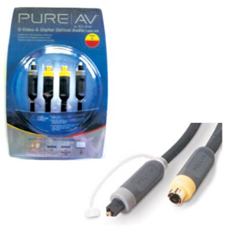 3' Optical Audio & S-Video (Mini Din 4 Male) Cable Kit - Belkin Pure AV - image 1 of 1