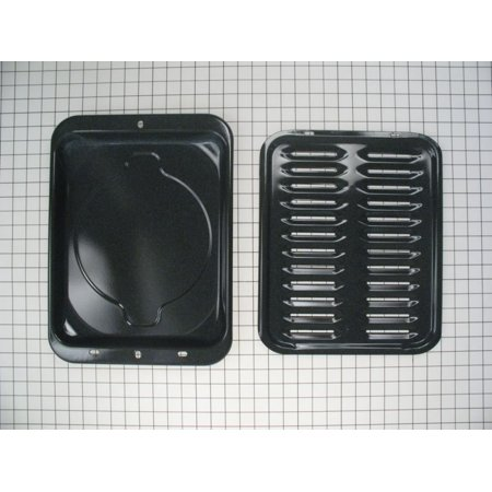 WB48X10056 Wall Oven Broil Pan Set, Kenmore OEM Part: WB48X10056 By Kenmore ()