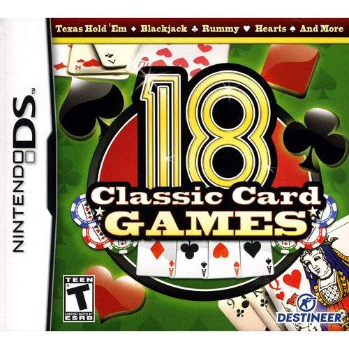 Image of 18 Classic Card Games (DS)
