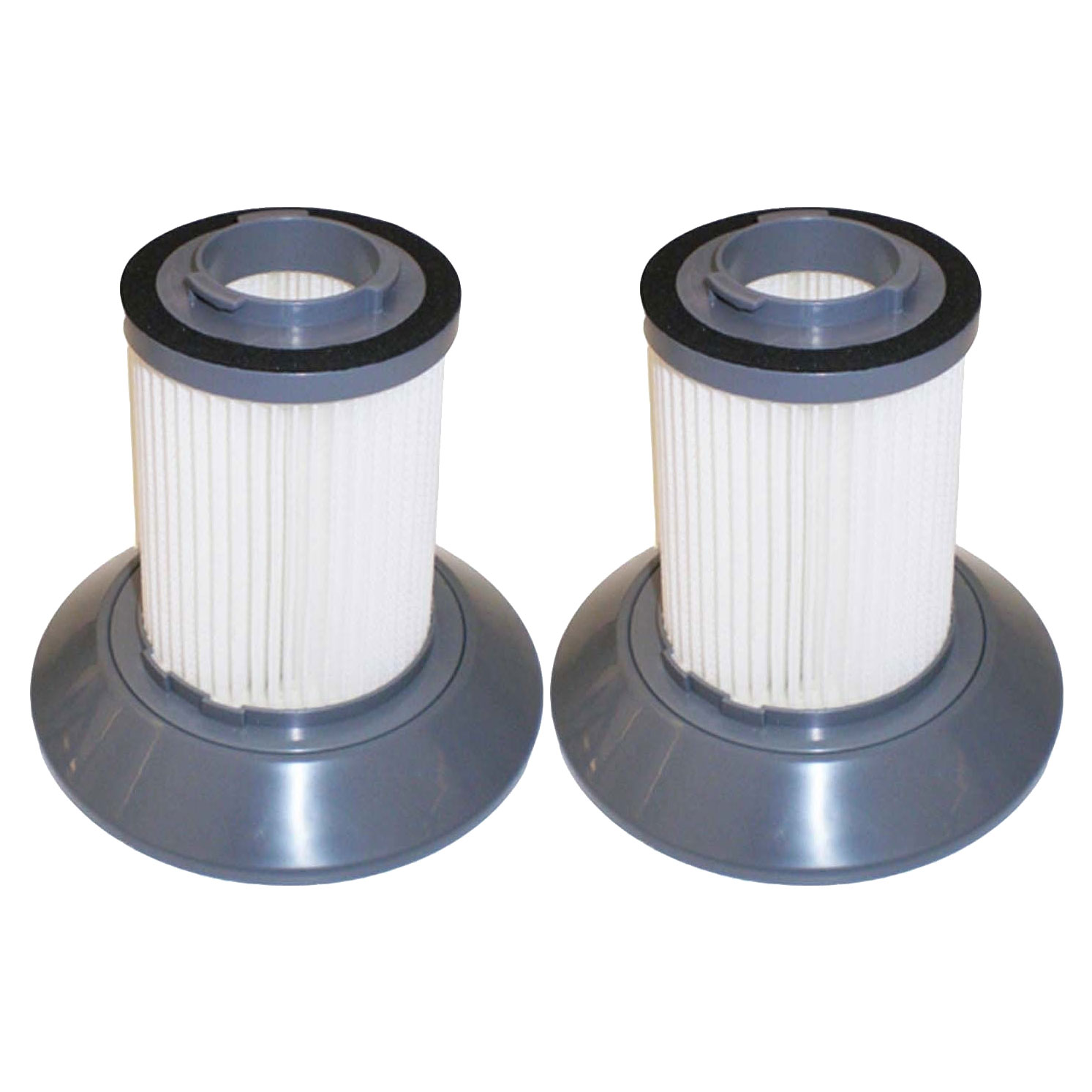 Felji 2 Pack Replacement Filters for Bissell Dirt Bin Zing Bagless Canister Vacuum Part # 203-1532
