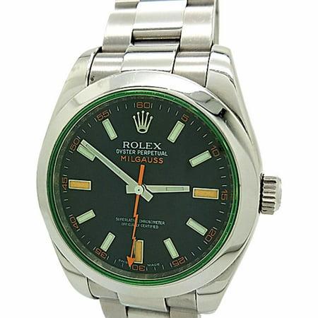 Rolex Milgauss 116400 Steel Watch (Certified Authentic & Warranty)