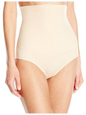 Flexees Womens Shapewear Hi-Waist Brief Firm Control