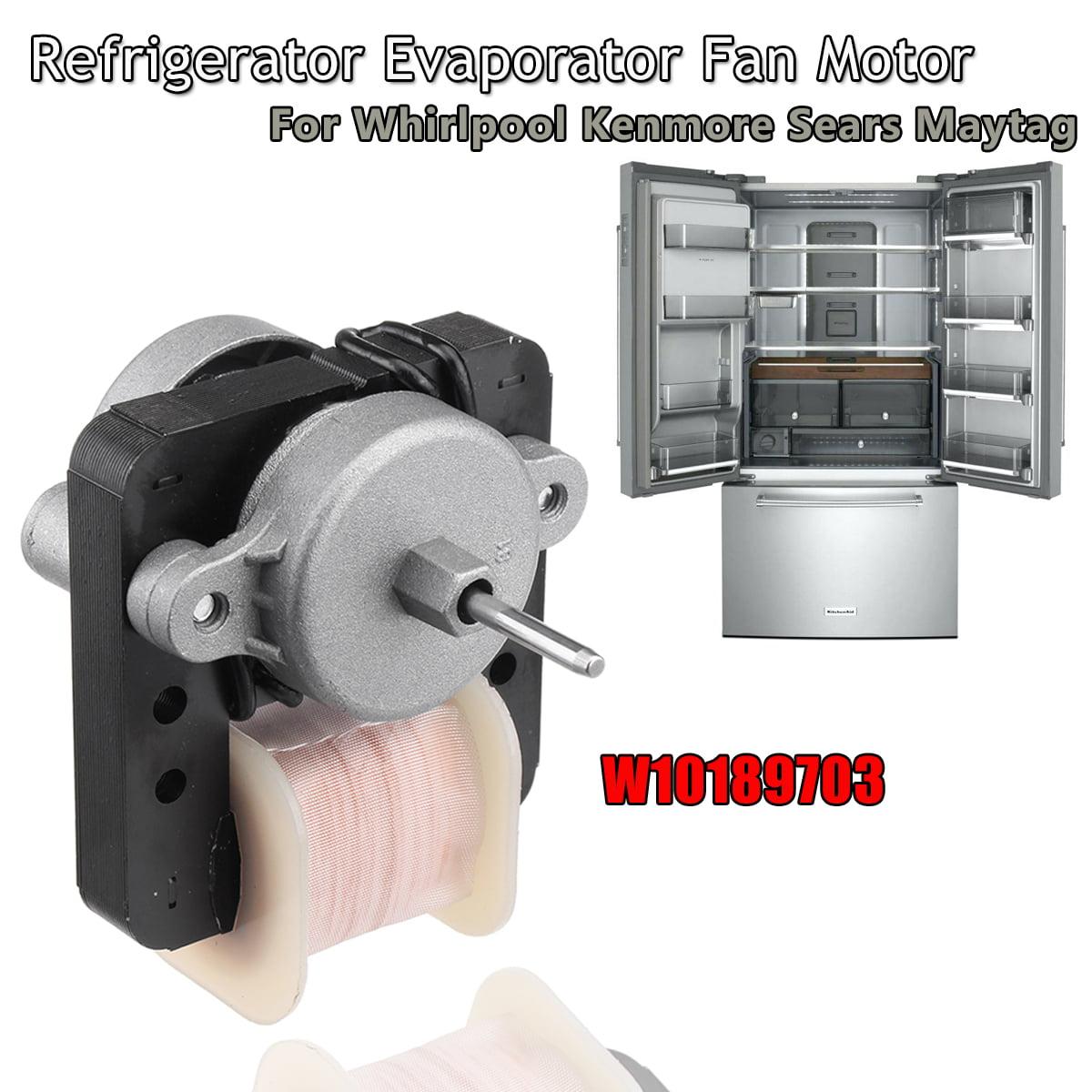 W10189703 NEW Whirlpool Refrigerator Evaporator Fan Motor Genuine OEM New In Box