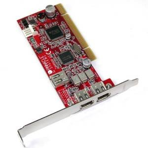 Pinnacle Systems Booster 2B Firewire PCI Adapter Card- 51009867 - Refurbished