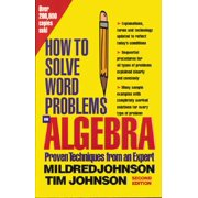 How to Solve Word Problems (McGraw-Hill): How to Solve Word Problems in Algebra, 2nd Edition (Paperback)
