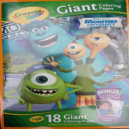 Crayola Disney Monster 39 S University