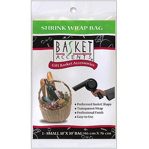 Basket Accents Shrink Wrap Bags
