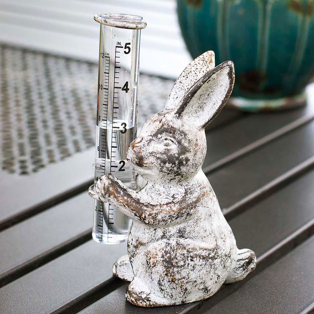 Bunny Rain Gauge by Colonial Tinworks