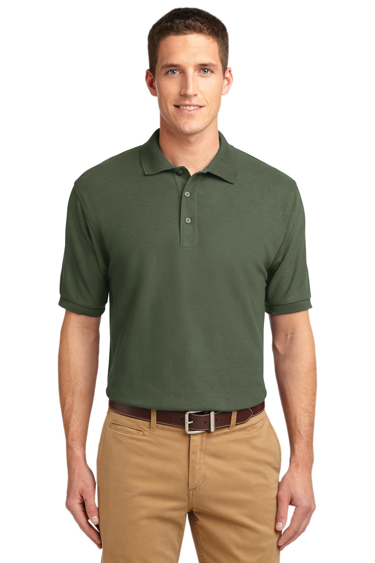 Port Authority Extended Size Silk Touch Polo