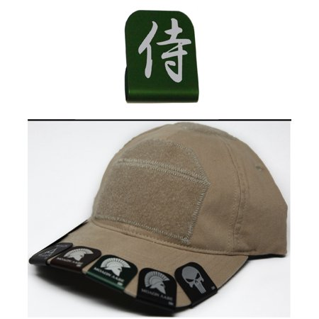 Ultimate Arms Gear CHINESE SYMBOL Hat Cap Crown Brim-It, Green