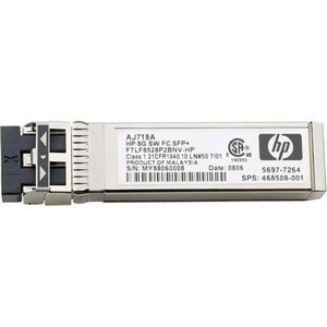 HPE - SFP (mini-GBIC) transceiver module - 8Gb Fibre Channel (Short Wave)